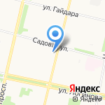 Аленка на карте Архангельска