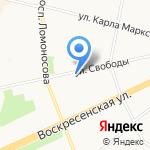 Альянс на карте Архангельска