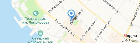 АРТ Формат на карте Архангельска