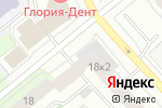 Схема проезда до компании Просто Жалюзи в Архангельске
