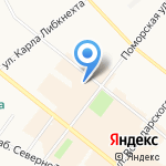 LEGO на карте Архангельска
