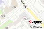 Схема проезда до компании Отделстрой в Архангельске