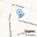 Севжилстрой на карте Архангельска