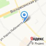 Отделстрой на карте Архангельска