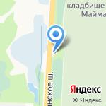 Часовня Николая Чудотворца на карте Архангельска