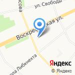 Ростелеком на карте Архангельска