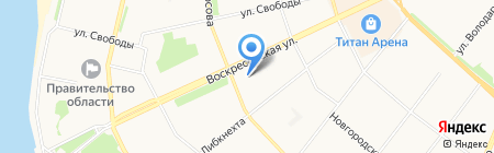 Well-Stone на карте Архангельска