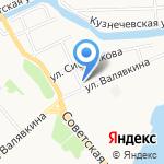 Галерея Багета на карте Архангельска