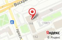 Схема проезда до компании Интеграл-Плюс в Архангельске