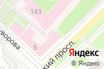 Схема проезда до компании МеталлПром в Архангельске