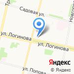 Межрайонное отделение №4 Управления Федеральной миграционной службы по Приморскому району на карте Архангельска