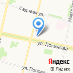 Архземкадастр на карте Архангельска