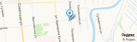 Маркет лайн на карте Архангельска