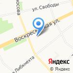 Агентство по организационному обеспечению деятельности мировых судей Архангельской области на карте Архангельска