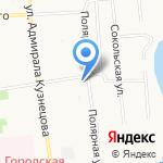 Катрин на карте Архангельска