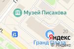 Схема проезда до компании Планета игрушек в Архангельске