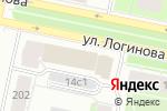 Схема проезда до компании Бухаринъ в Архангельске
