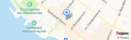 Perfetto на карте Архангельска