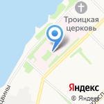 Первая городская клиническая больница им. Е.Е. Волосевич на карте Архангельска