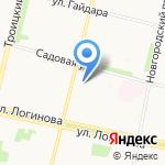 Жестянщик и Ко на карте Архангельска