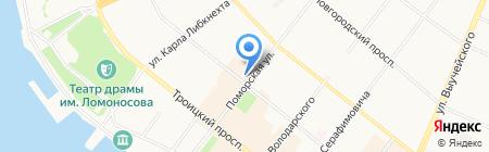 Салон сумок от Светланы на карте Архангельска