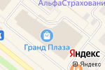 Схема проезда до компании Злато Россов в Архангельске