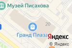 Схема проезда до компании Ева в Архангельске