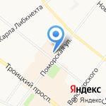М-Style на карте Архангельска