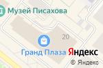Схема проезда до компании Аччессори в Архангельске