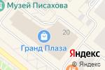 Схема проезда до компании Didriksons в Архангельске