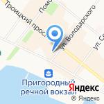 ДОМАНИ на карте Архангельска