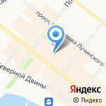 Mackintosh на карте Архангельска