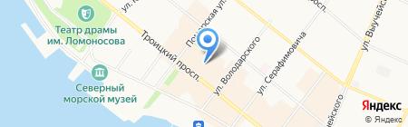 Президент-Авто на карте Архангельска