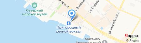 САФУ на карте Архангельска
