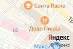 Схема проезда до компании Вещи и сны в Архангельске