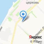 Ажур на карте Архангельска