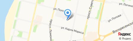 Билд на карте Архангельска