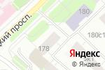 Схема проезда до компании Ажур в Архангельске