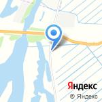 Крона на карте Архангельска