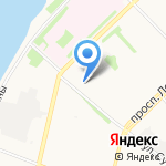 Чаровница на карте Архангельска