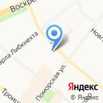 Студия красоты на карте Архангельска