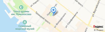 Мастерская имиджа Даны Тарасовой на карте Архангельска