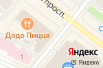 Схема проезда до компании ЛСР.Недвижимость-Северо-Запад в Архангельске