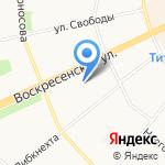 ЮТэйр-Экспресс на карте Архангельска