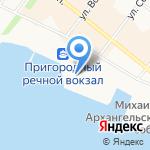 Югория на карте Архангельска