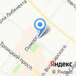 Мой мир на карте Архангельска