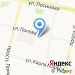 Рябов и Ко на карте Архангельска