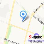 Aiesec на карте Архангельска