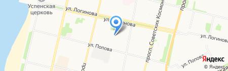 Архангельский детский дом №2 на карте Архангельска