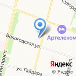 Profi на карте Архангельска
